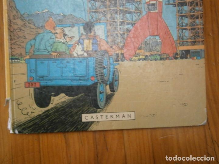 Libros antiguos: HERGE-LES AVENTURE DE TINTIN..OBJETICTIF LUNE (CASTERMAN ) - Foto 2 - 147495134
