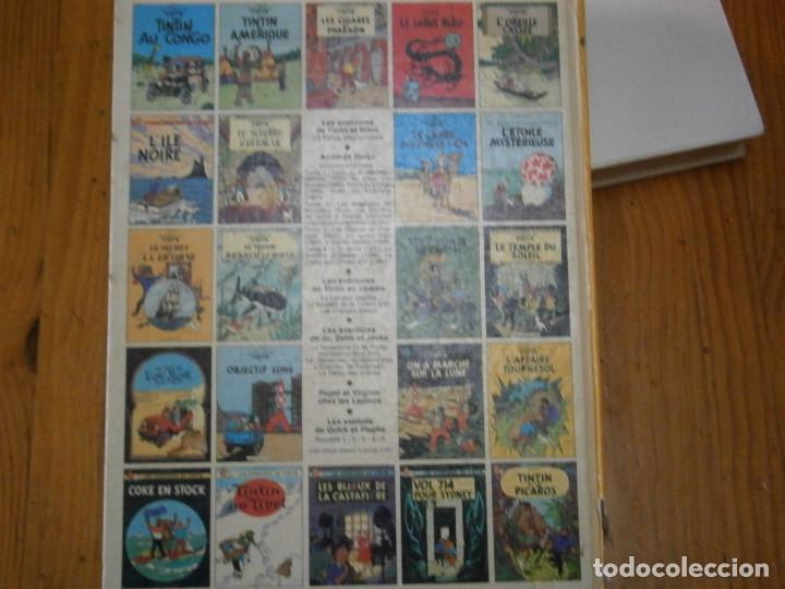 Libros antiguos: HERGE-LES AVENTURE DE TINTIN..OBJETICTIF LUNE (CASTERMAN ) - Foto 6 - 147495134