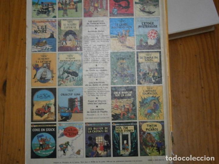 Libros antiguos: HERGE-LES AVENTURE DE TINTIN..OBJETICTIF LUNE (CASTERMAN ) - Foto 7 - 147495134