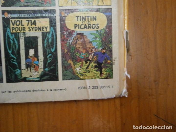 Libros antiguos: HERGE-LES AVENTURE DE TINTIN..OBJETICTIF LUNE (CASTERMAN ) - Foto 8 - 147495134