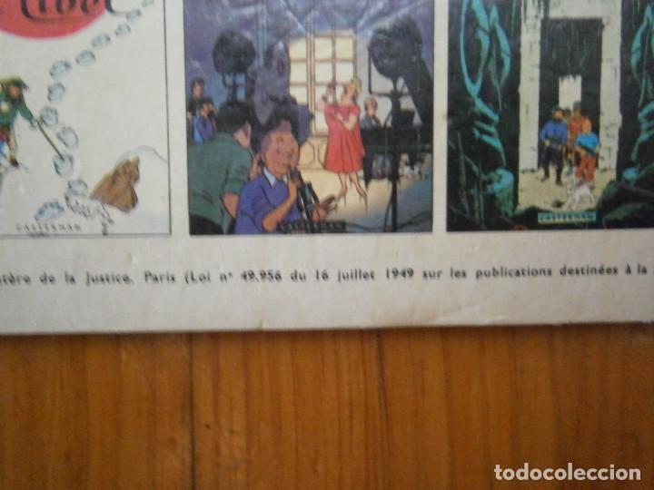 Libros antiguos: HERGE-LES AVENTURE DE TINTIN..OBJETICTIF LUNE (CASTERMAN ) - Foto 9 - 147495134