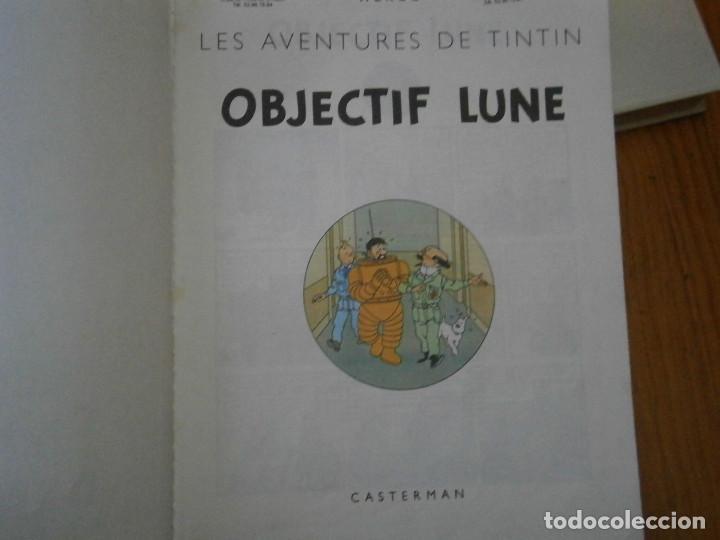 Libros antiguos: HERGE-LES AVENTURE DE TINTIN..OBJETICTIF LUNE (CASTERMAN ) - Foto 11 - 147495134