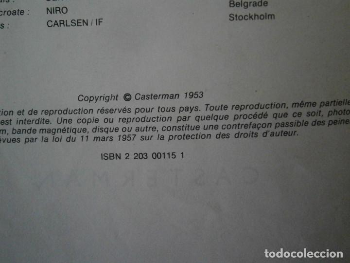 Libros antiguos: HERGE-LES AVENTURE DE TINTIN..OBJETICTIF LUNE (CASTERMAN ) - Foto 13 - 147495134