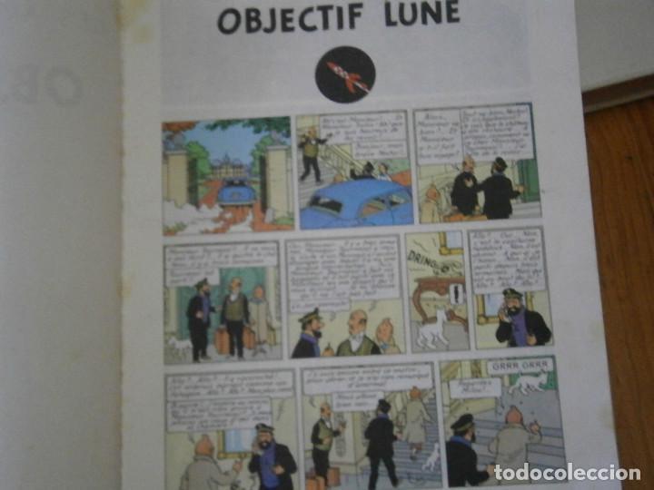 Libros antiguos: HERGE-LES AVENTURE DE TINTIN..OBJETICTIF LUNE (CASTERMAN ) - Foto 14 - 147495134