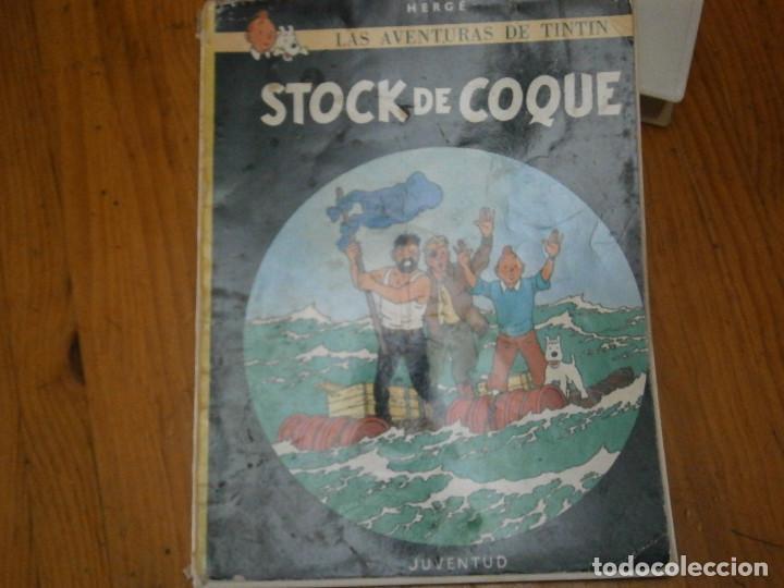 HERGE-LAS AVENTURAS DE TINTIN STOCK DE COQUE ..JUVENTUD..CASTERMAN 1981 (Libros Antiguos, Raros y Curiosos - Literatura Infantil y Juvenil - Otros)