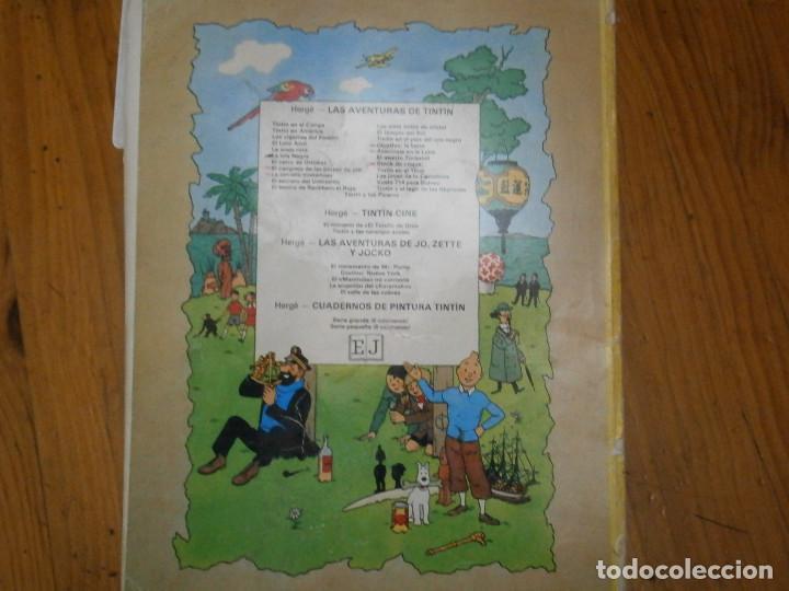 Libros antiguos: HERGE-LAS AVENTURAS DE TINTIN STOCK DE COQUE ..JUVENTUD..CASTERMAN 1981 - Foto 4 - 147495618