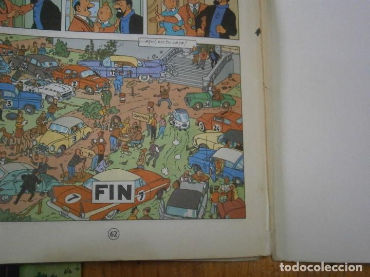 Libros antiguos: HERGE-LAS AVENTURAS DE TINTIN STOCK DE COQUE ..JUVENTUD..CASTERMAN 1981 - Foto 9 - 147495618