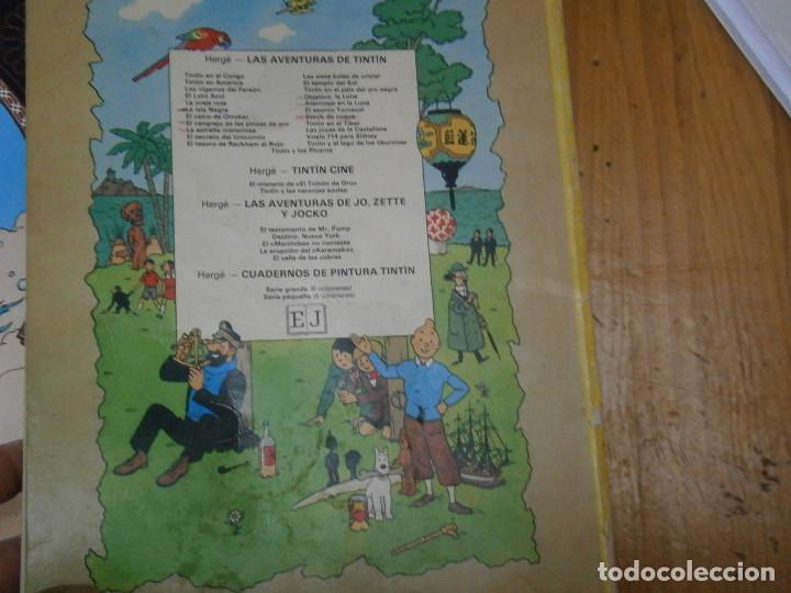 Libros antiguos: HERGE-LAS AVENTURAS DE TINTIN STOCK DE COQUE ..JUVENTUD..CASTERMAN 1981 - Foto 11 - 147495618