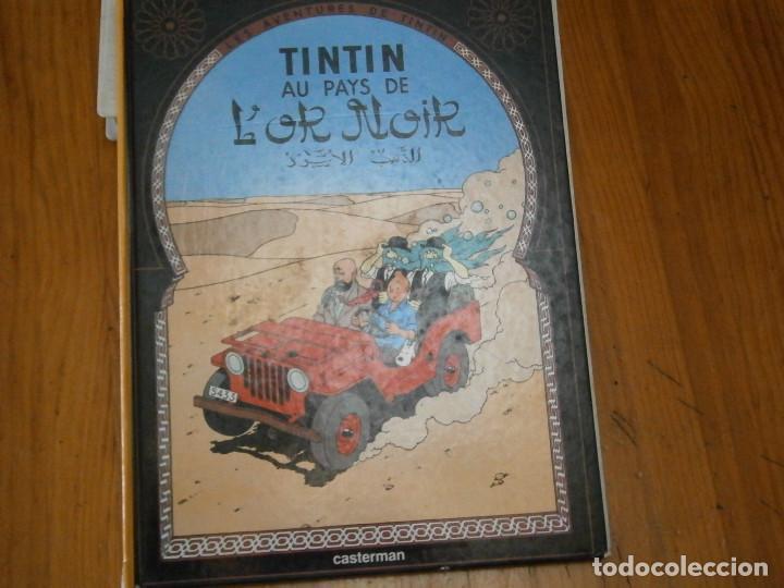 LES AVENTURES DE TINTIN-TINTIN AU PAYS DE LOR NOIR (CASTERMAN 1950) (Libros Antiguos, Raros y Curiosos - Literatura Infantil y Juvenil - Otros)
