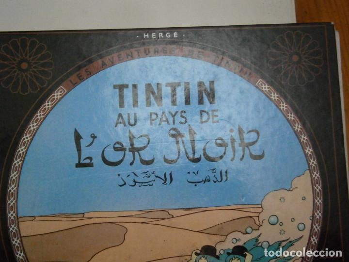 Libros antiguos: LES AVENTURES DE TINTIN-TINTIN AU PAYS DE LOR NOIR (CASTERMAN 1950) - Foto 3 - 147496206