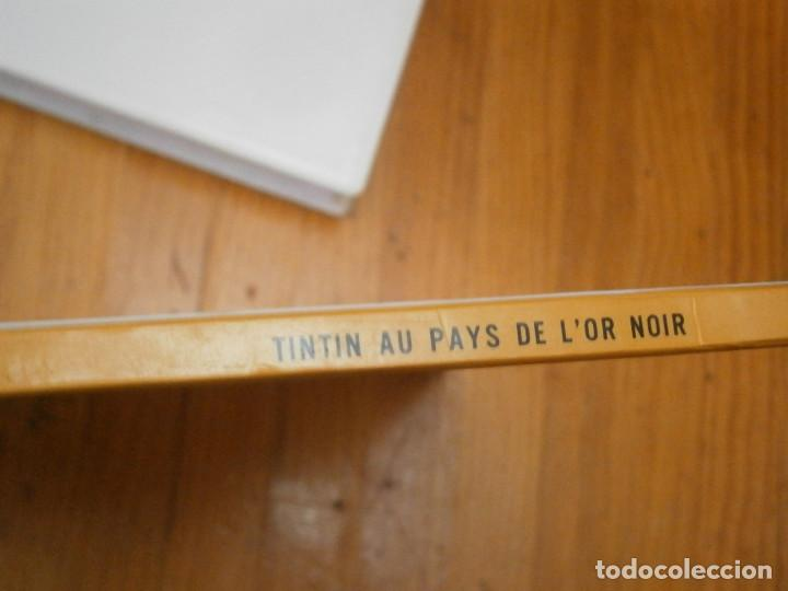 Libros antiguos: LES AVENTURES DE TINTIN-TINTIN AU PAYS DE LOR NOIR (CASTERMAN 1950) - Foto 4 - 147496206