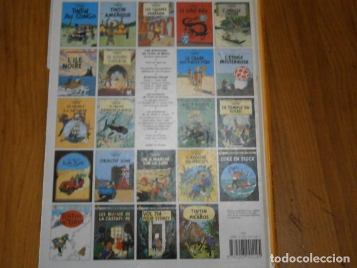 Libros antiguos: LES AVENTURES DE TINTIN-TINTIN AU PAYS DE LOR NOIR (CASTERMAN 1950) - Foto 6 - 147496206
