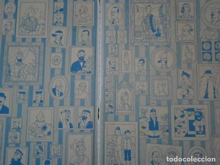 Libros antiguos: LES AVENTURES DE TINTIN-TINTIN AU PAYS DE LOR NOIR (CASTERMAN 1950) - Foto 8 - 147496206