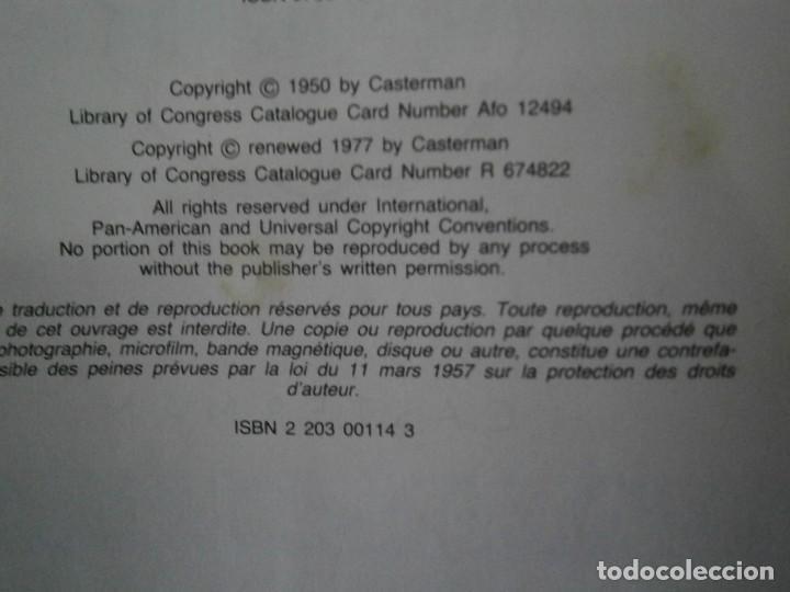 Libros antiguos: LES AVENTURES DE TINTIN-TINTIN AU PAYS DE LOR NOIR (CASTERMAN 1950) - Foto 10 - 147496206