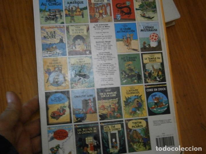 Libros antiguos: LES AVENTURES DE TINTIN-TINTIN AU PAYS DE LOR NOIR (CASTERMAN 1950) - Foto 13 - 147496206
