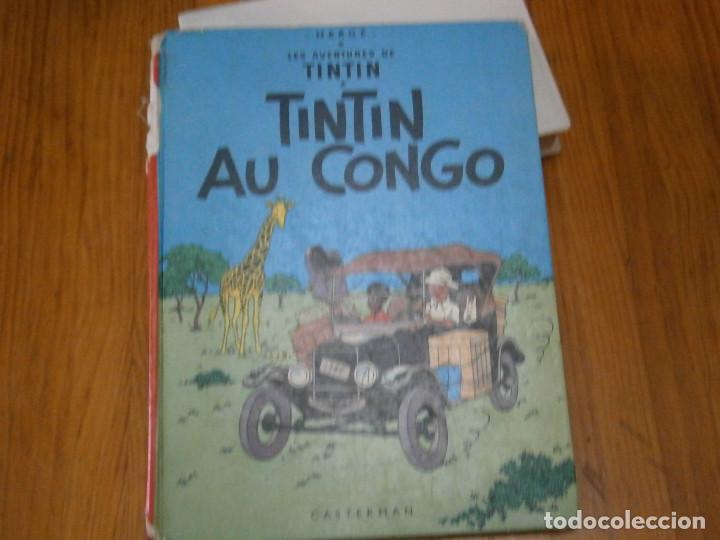 HERGE-LES AVENTURES DE TINTIN..TINTIN AU CONGO (CASTERMAN 1970) (Libros Antiguos, Raros y Curiosos - Literatura Infantil y Juvenil - Otros)