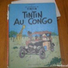 Libros antiguos: HERGE-LES AVENTURES DE TINTIN..TINTIN AU CONGO (CASTERMAN 1970). Lote 147497066
