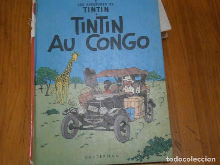 Libros antiguos: HERGE-LES AVENTURES DE TINTIN..TINTIN AU CONGO (CASTERMAN 1970) - Foto 2 - 147497066
