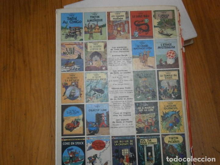 Libros antiguos: HERGE-LES AVENTURES DE TINTIN..TINTIN AU CONGO (CASTERMAN 1970) - Foto 8 - 147497066