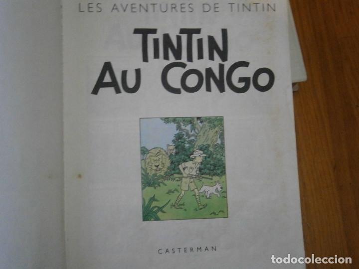Libros antiguos: HERGE-LES AVENTURES DE TINTIN..TINTIN AU CONGO (CASTERMAN 1970) - Foto 12 - 147497066