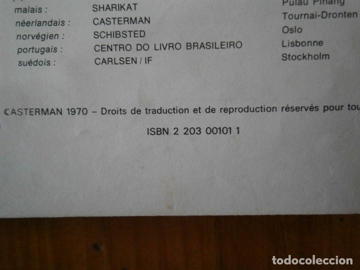 Libros antiguos: HERGE-LES AVENTURES DE TINTIN..TINTIN AU CONGO (CASTERMAN 1970) - Foto 24 - 147497066