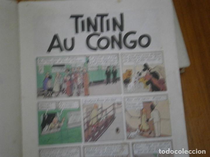 Libros antiguos: HERGE-LES AVENTURES DE TINTIN..TINTIN AU CONGO (CASTERMAN 1970) - Foto 25 - 147497066