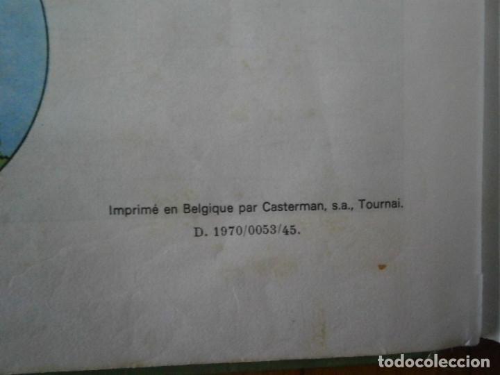 Libros antiguos: HERGE-LES AVENTURES DE TINTIN..TINTIN AU CONGO (CASTERMAN 1970) - Foto 27 - 147497066