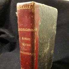 Libros antiguos: ANTIGUO LIBRO DE 1863 CON EL CORAZON EN LA MANO . Lote 147535158
