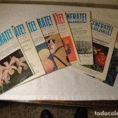 Libros antiguos: REVISTAS:REGENÉRATE,DIRECTOR: N. CAPO.ENERO-FEBRERO- MARZO-ABRIL-MAYO-JUNIO-AGOSTO Y SEPTIEMBRE 1976. Lote 145351106