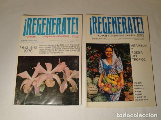 Libros antiguos: Revistas:REGENÉRATE,Director: N. Capo.Enero-Febrero- Marzo-Abril-Mayo-Junio-Agosto y Septiembre 1976 - Foto 2 - 145351106