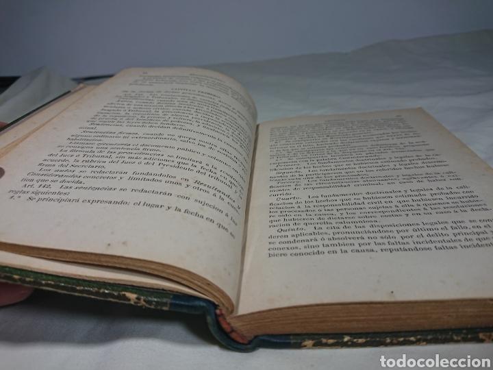 Libros antiguos: Ley Enjuiciamiento Criminal, Abella, 1892 - Foto 3 - 147596126