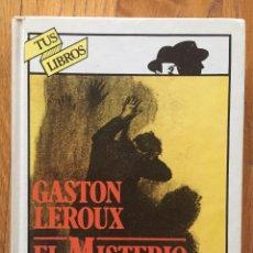 Libros antiguos: EL MISTERIO DEL CUARTO AMARILLO, GASTON LEROUX ANAYA TUS LIBROS. Lote 147610362