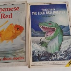 Libros antiguos: JAPANESE RED AND OTHER SHORT STORIES - THE MYSTERY OF THE LOCH NESS MONSTER- 1987-88. Lote 147614294