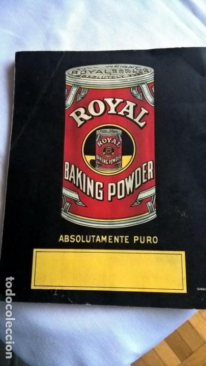 Libros antiguos: Antiguo Libro Royal Recetas Culinarias. - - Foto 5 - 147690278