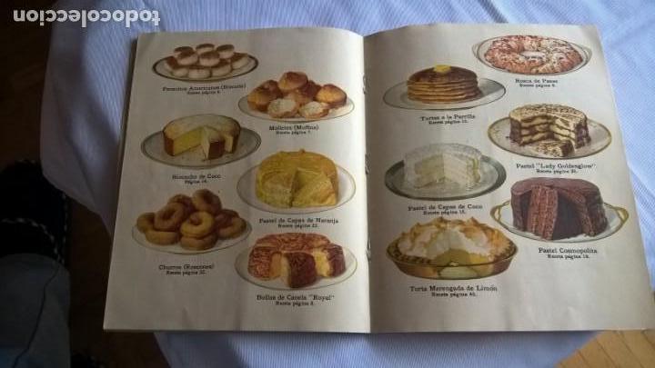 Libros antiguos: Antiguo Libro Royal Recetas Culinarias. - - Foto 2 - 147690278