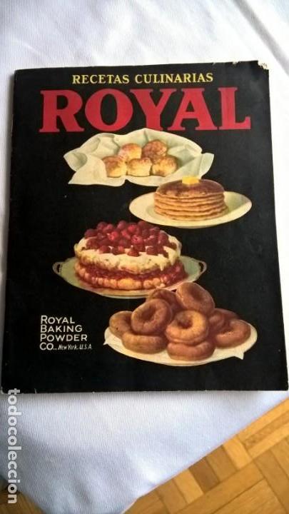 ANTIGUO LIBRO ROYAL RECETAS CULINARIAS. - (Libros Antiguos, Raros y Curiosos - Cocina y Gastronomía)