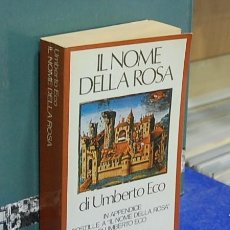 Libros antiguos: LMV - IL NOME DELLA ROSA. UMBERTO ECO - TEXTO EN ITALIANO. Lote 147726890