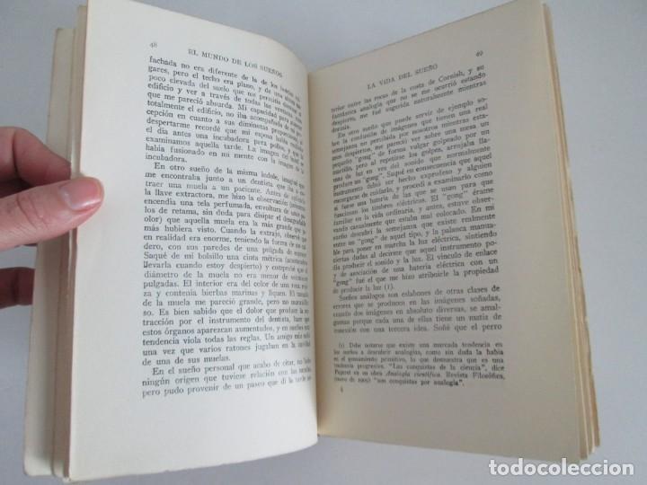 Libros antiguos: EL MUNDO DE LOS SUEÑOS. HAVELOCK ELLIS. CASA EDITORIAL ARALUCE. 1929. VER FOTOGRAFIAS ADJUNTAS - Foto 11 - 147742826