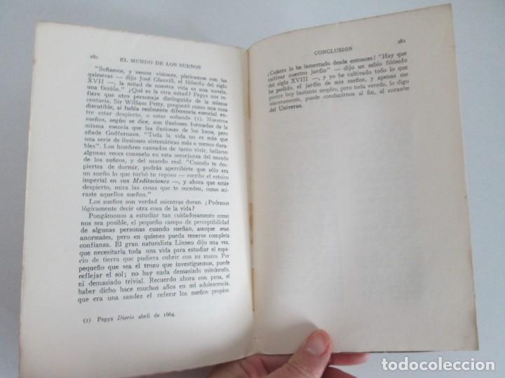 Libros antiguos: EL MUNDO DE LOS SUEÑOS. HAVELOCK ELLIS. CASA EDITORIAL ARALUCE. 1929. VER FOTOGRAFIAS ADJUNTAS - Foto 15 - 147742826