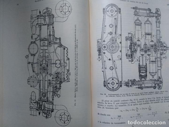Libros antiguos: MOTORES DE COMBUSTION INTERNA IX - Distribución y regulación... (Hans List) Ed. Labor, 1952 - Foto 4 - 147743058
