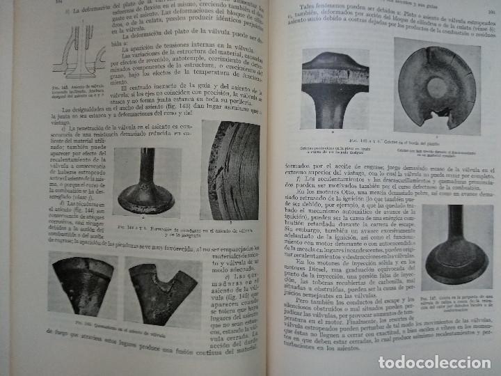 Alte Bücher: MOTORES DE COMBUSTION INTERNA XIV - Desgaste, Costes de explotación... (Hans List) Ed. Labor, 1950 - Foto 3 - 147744042