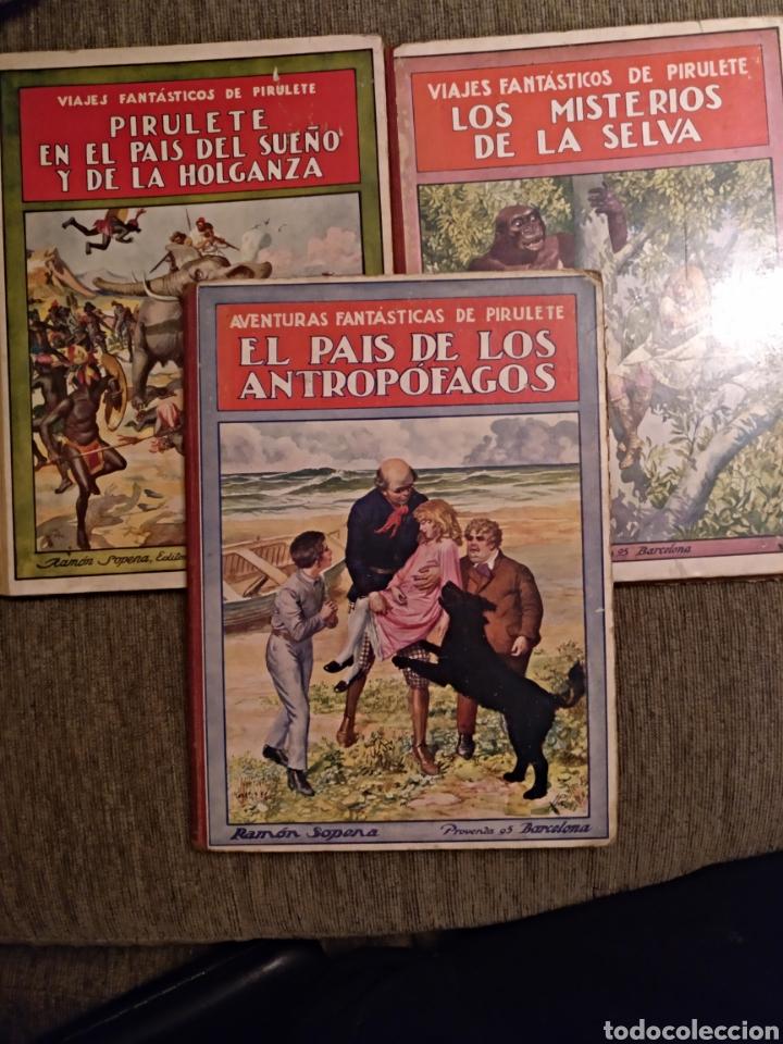 LOTE LIBROS PIRULETE 1922 (Libros Antiguos, Raros y Curiosos - Literatura - Otros)