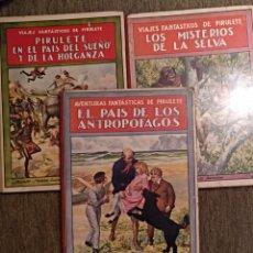 Libros antiguos: LOTE LIBROS PIRULETE 1922. Lote 147748446