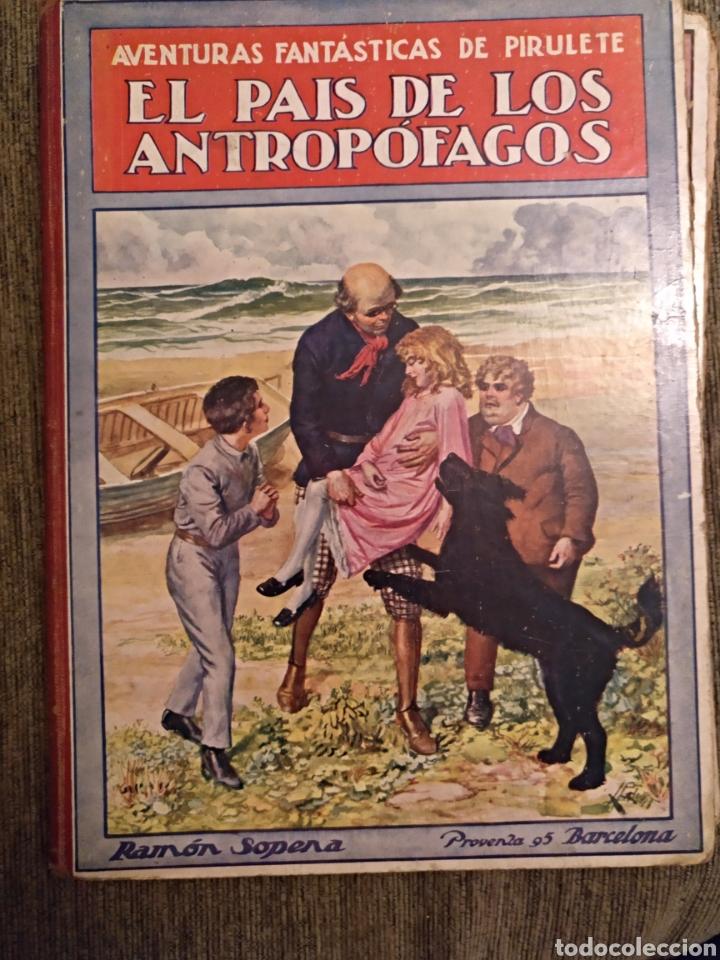 Libros antiguos: Lote libros pirulete 1922 - Foto 2 - 147748446