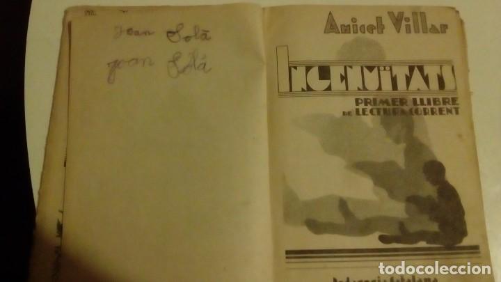 Libros antiguos: INGENUÏTATS PER ANICET VILLAR 1937 - Foto 3 - 147765054