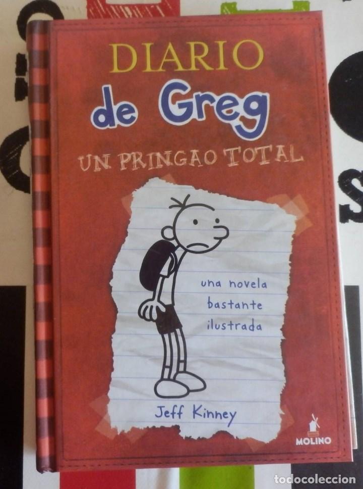 JEFF KINEY - DIARIO DE GREG 1 (UN PRINGAO TOTAL) (RBA, 2008) (Libros Antiguos, Raros y Curiosos - Literatura Infantil y Juvenil - Otros)