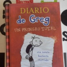Libros antiguos: JEFF KINEY - DIARIO DE GREG 1 (UN PRINGAO TOTAL) (RBA, 2008). Lote 147774650