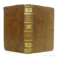 Libros antiguos: 1825 - BERNARDIN DE SAINT-PIERRE: ESTUDIOS DE LA NATURELEZA - LIBRO ANTIGUO, SIGLO XIX - PIEL . Lote 147777226