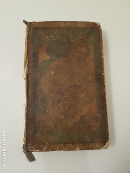 RAMILLETE DEL AMA DE CASA 1924 NIEVES (Libros Antiguos, Raros y Curiosos - Cocina y Gastronomía)