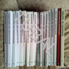 Libros antiguos: TUBAL MONOGRAFIES DEL MONTSENY 18 VOLUMS 1O KILOS. Lote 147862662